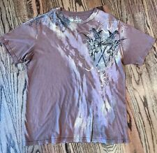 Resurge Swords and Angels Graphic T-shirt Brown NWOT - XXL
