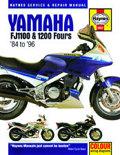 Haynes Manual 2057 - Yamaha FJ1100 & FJ1200 Fours (84 - 96) workshop/service