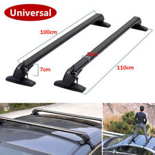 2x Car SUV Crossbar Rack Roof Rail Luggage Baggage Carrier Cross Aluminum Alloy
