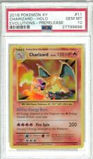 PSA 10 CHARIZARD EVOLUTIONS 11/108 PRERELEASE POKEMON CARD