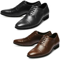 Mooda Mens Leather Shoes Classic Formal Oxfords Dress Shoes BosternL