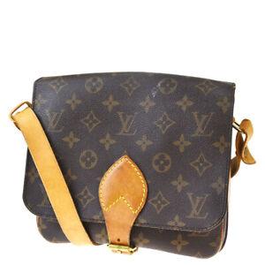 Auth LOUIS VUITTON Cult Sierre MM Shoulder Bag Monogram Leather M51253 35MF506