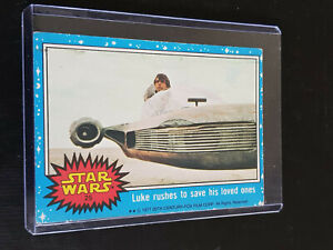 *** Topps 1977 Star Wars Series 1 (Blue) Trading Card # 25 ***