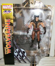 WOLVERINE (BROWN COSTUME) MARVEL SELECT ACTION FIGURE - 2017