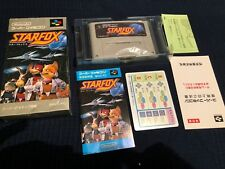 Star Fox Super Nintendo Entertainment snes famicom - Japanese Version