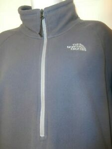 The North Face Women's 1/2 Zip Fleece Thumb Hole Size XXL Zip in sleeve for keys
