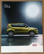 2016 Kia Soul Original Sales Brochure NEW