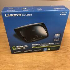Linksys by Cisco Wireless-G Broadband Router WRT54G2