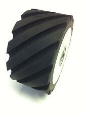 """Belt Grinder RUBBER Wheel for 2x72"""" knife making grinder"""