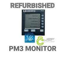 Concept 2 PM3/Canottaggio MONITOR. condizioni molto buone. ricondizionati e testato