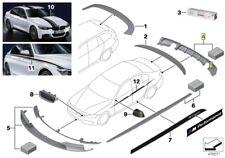 Genuine BMW M Performance F30 Dual Exit Rear Diffuser 51192291414