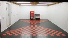Double garage Flooring Interlocking floor tiles £ 17.98psm Heavy Duty £ 425 frais