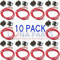 (10 PACK) 4387535 Refrigerator Relay and Overload for Whirlpool Kenmore compress
