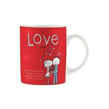 I Love You Mug, Romantic Gifts, Valentines Day, Anniversaries, Tea/Coffee V10019