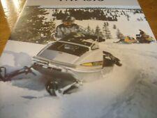 New listing 1973 Vintage SKI DOO TNT SILVER BULLET Snowmobile Brochure