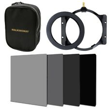 150*100mm ND Square filter kit set+holder+72mm adapter+16-slots case for Cokin Z