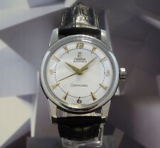 Vintage 1953 Men's Omega Seamaster Automatic Wristwatch One Year Warranty