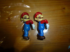 Lot de 2 figurines Super Mario Kellogg's, Nintendo, 1999