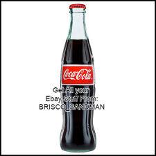 Fridge Fun Refrigerator Magnet COCA COLA Bottle - Version D - Specialty Die Cut