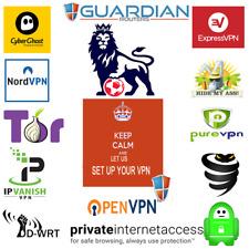 Linksys ASUS Netgear TP-Link ddwrt OpenVPN PPTP L2TP VPN setup remote service