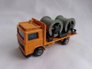 Matchbox Lesney Superfast No26 Volvo Cable Truck RARE MALTESE CROSS Wheels