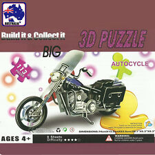 3d Foam Paper Model Motorcycle Puzzle DIY Craft Toy Kid Assembling Gpuzz0105