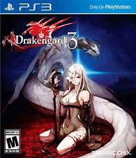 Sony PS3 Playstation 3 Spiel ***** Drakengard 3 *************************NEU*NEW