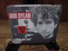 BOB DYLAN LOVE & THEFT [Digipak] ORIGINAL 2001 RARE COLLECTORS LIMITED EDITION