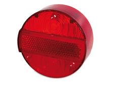 Rücklichtkappe rot 3 Schrauben Ø120 passend für MZ ETZ 125 150 250  E-Zeichen