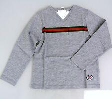 Neu Authentisch Gucci Langärmeliges T-Shirt Top mit / Grg Web Verzahnung G, 4,