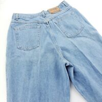 Vintage 80s 90s 18 Tall Tapered Leg High Waist Mom Jeans Light Stone Wash MINT!!