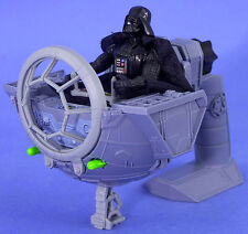 STAR WARS POTF DELUXE LOOSE TIE FIGHTER WITH DARTH VADER MINT CONDITION. C-10+