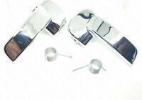 2x Für Nissan PATHFINDER NAVARA Türgriff Innen Vorne L&R Chrom 2x Feder