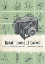 Kodak Tourist Ii Synchro-Rapid 800 Instruction Manual