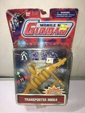 Mobile Suit  Gundam Transporter Spaceship MIDEA 2001 Bandai new damaged package