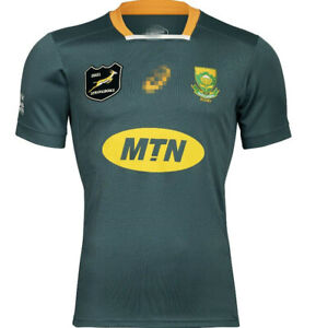 2021 South Africa  Home MEN'S Rugby Jerseys
