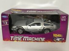 BACK TO THE FUTURE DELOREAN TIME MACHINE Welly 1:23 scale model car