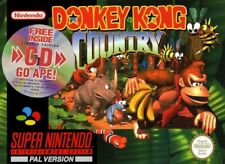 Nintendo SNES - Donkey Kong Country 1 Limited Edition mit OVP OVP beschädigt