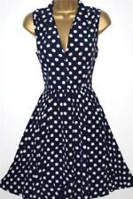 Viscose Sleeveless Dresses for Women's 1950s