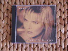"""High-End-Referenz-CD: SARA K. """"Play On Words"""" CHESKY RECORDS - bitte lesen -"""