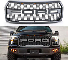 2015 2016 2017 Ford F-150 Raptor SVT Style Conversion Grille with LED Lights