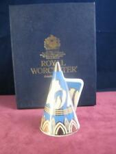 Royal Worcester Blue Glade Connoisseur  Collection  Candle Snuffer Boxed