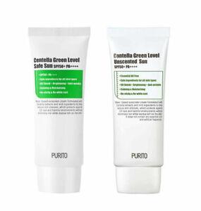 [PURITO] Centella Green Level Safe Sun / Unscented Sun (SPF50+ / PA++++) - 60ml