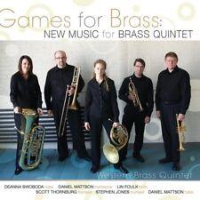 Western Brass Quintet - Games For Brass: New Music For Brass Quintet  CD