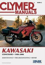 CLYMER SERVICE MANUAL KAWASAKI CONCOURS ZG1000 & ZG1000A & GTR1000 1986-2004