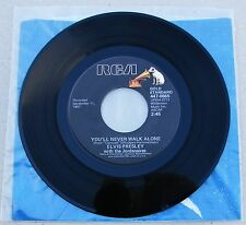 Elvis Presley 447-0665 You'll Never Walk Alone / We Call On Him RARE * MINT- *
