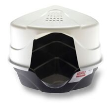 Nature's Miracle Advanced Corner Hooded Litter Box with 2 Odor Control Filters