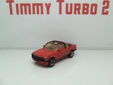 Matchbox Bmw Cabrio Rojo 1985 1:58 75 mm de largo 2