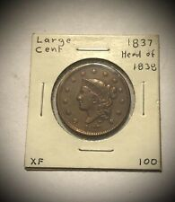 1837 Large Cent - Head of 1838