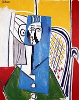 """PABLO PICASSO Poster or Canvas Print """"Sylvette"""""""